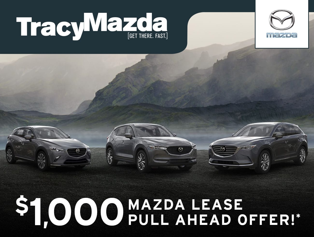 Season of Discovery - $1,000 Mazda Lease Pull Ahead Offer*
